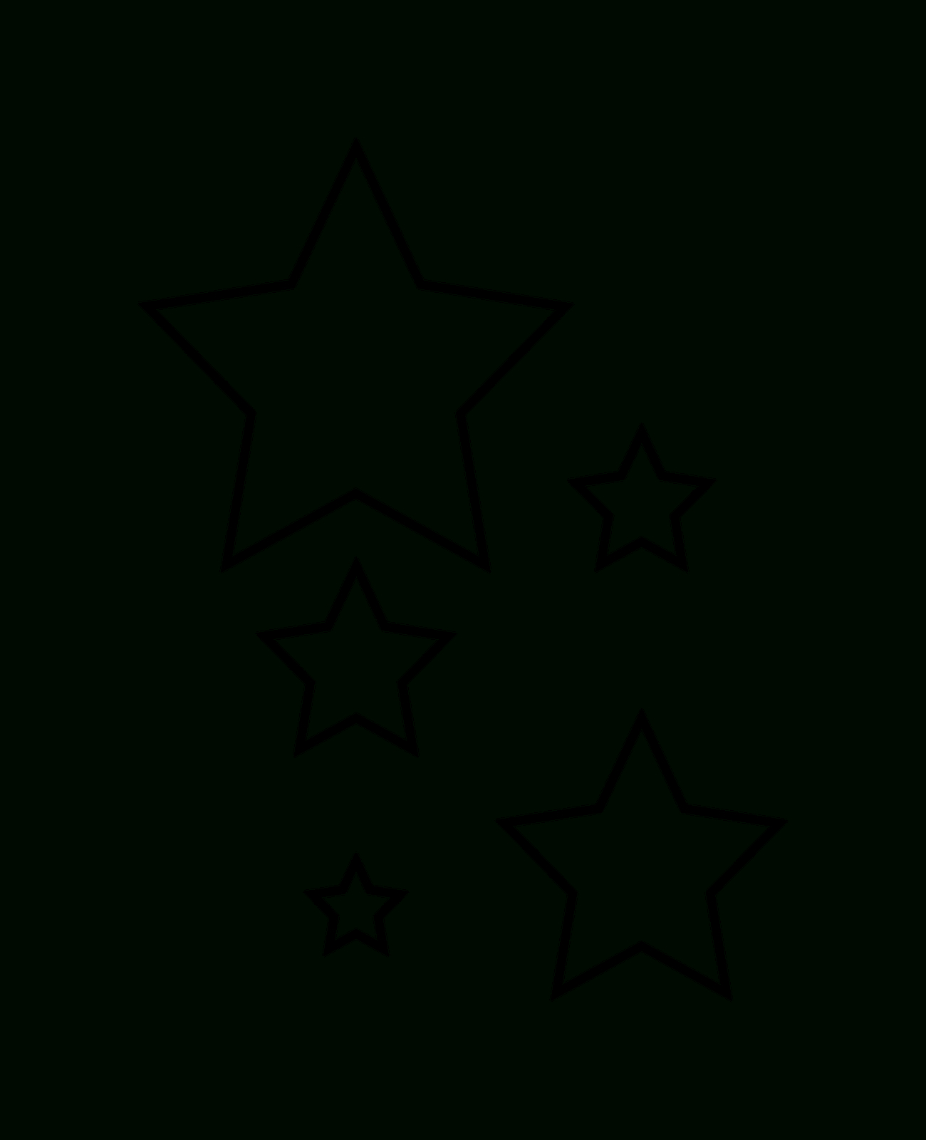 Free Large Star Template Printable, Download Free Clip Art, Free - Free Printable Stars