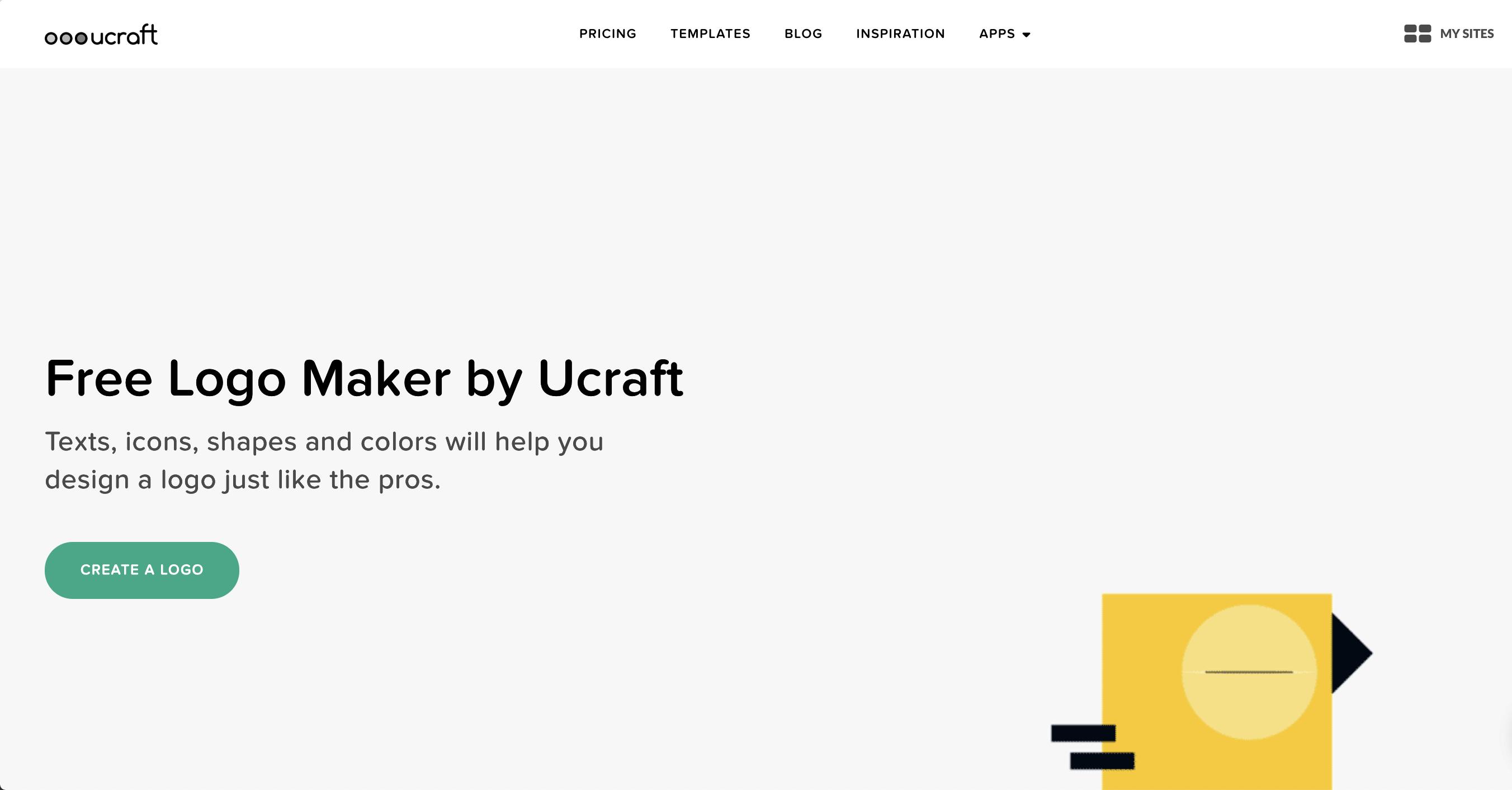 Free Logo Maker   Create Your Own Logo Design   Ucraft - Free Printable Logo Maker