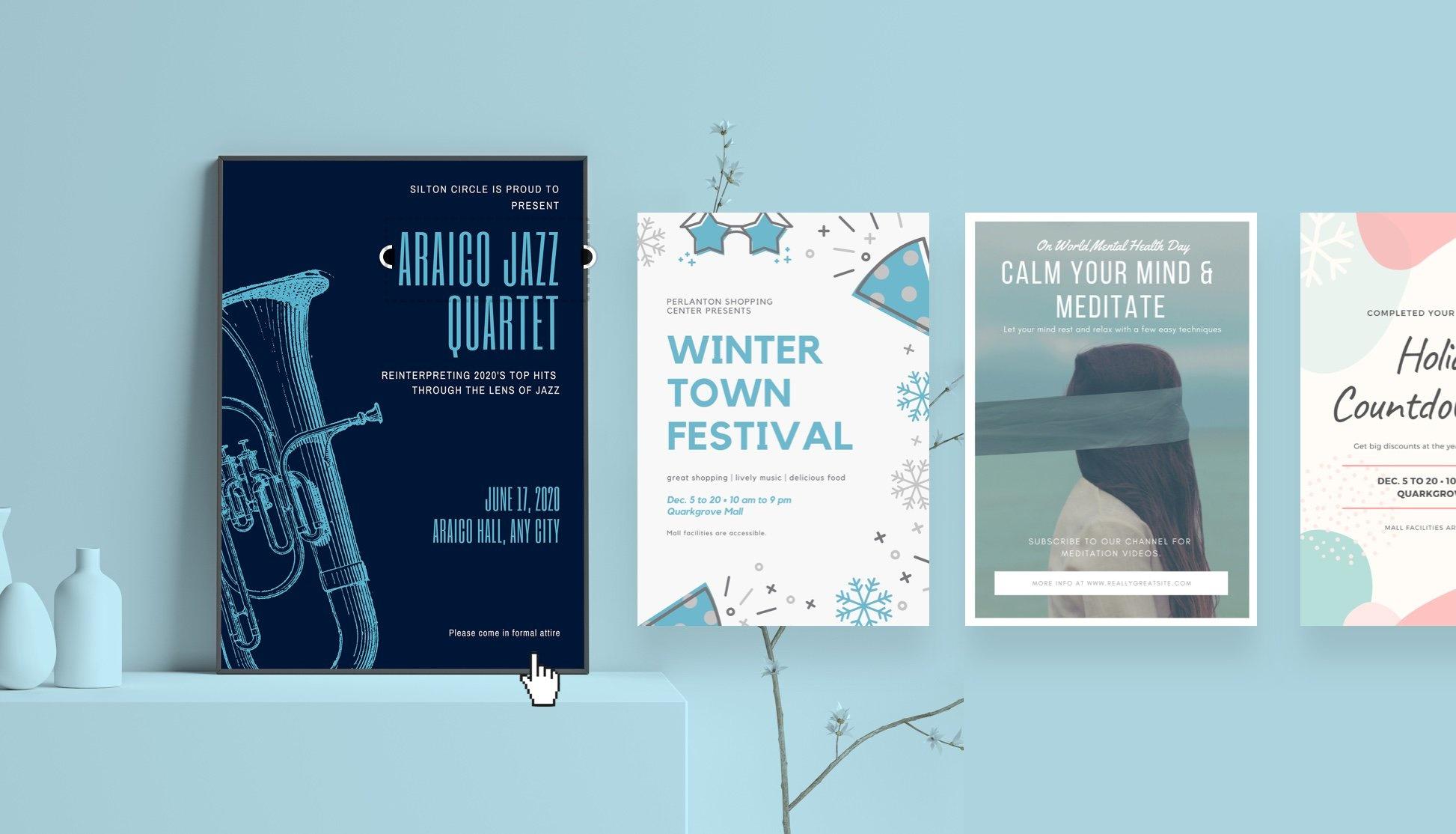 Free Online Poster Maker: Design Custom Posters With Canva - Printable Sign Maker Online Free
