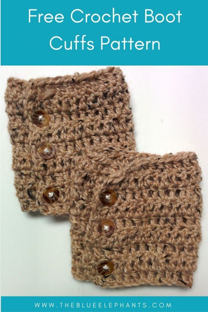 Free Printable Crochet Patterns For Boot Cuffs