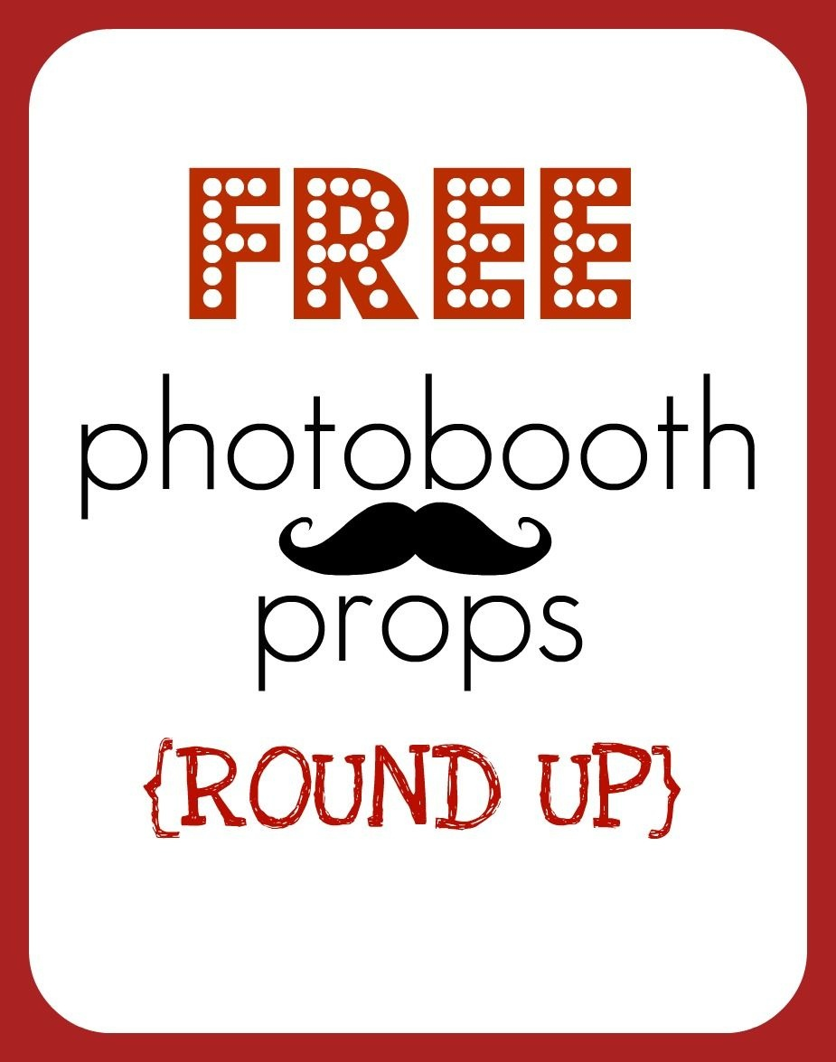 Free Photo Booth Props - Printable | Homecoming | Photobooth Props - Free Printable 30Th Birthday Photo Booth Props