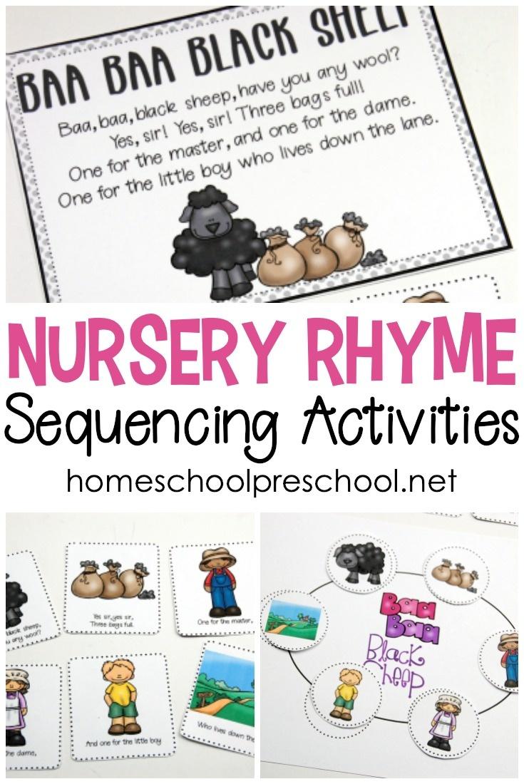 Free Preschool Printables For Your Homeschool Preschool - Free Printable Nursery Resources