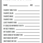 Free Printable All About Me Worksheet Back To School Worksheet All   Free Printable Worksheets For 1St Grade Language Arts
