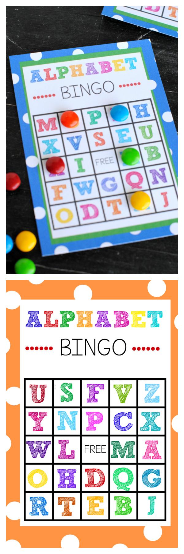Free Printable Alphabet Bingo Game - Free Printable Alphabet Games