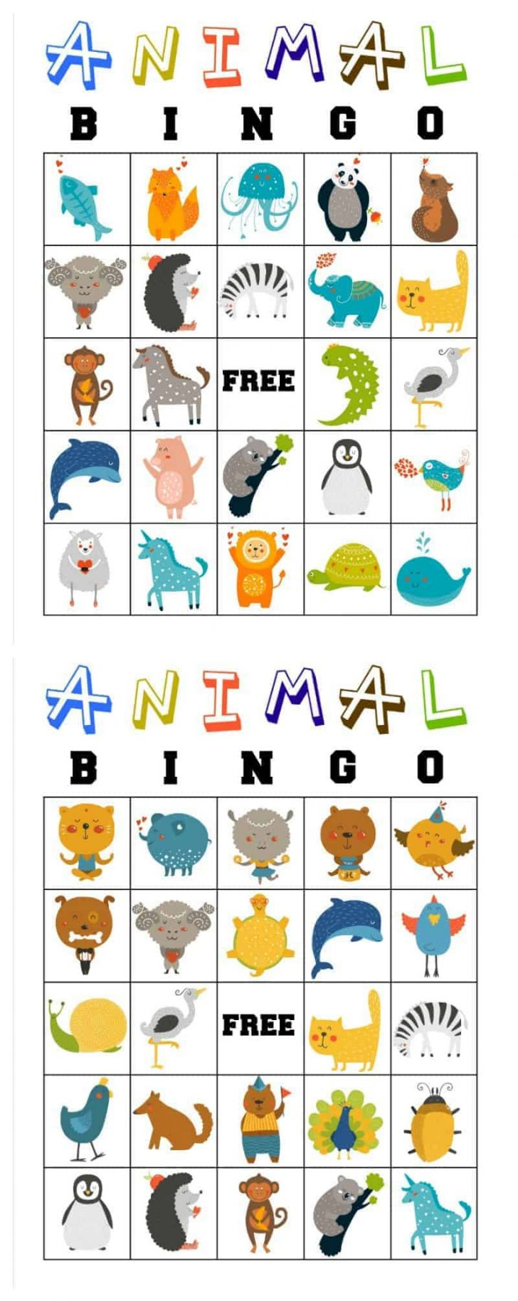 Free Printable Bible Bingo For Preschoolers