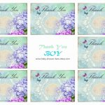 Free Printable Baby Shower Thank You Cards - Free Printable Baby Shower Thank You Cards