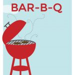 Free Printable Bbq Party Invitation - Bbq Cookout | Greetings Island - Free Printable Cookout Invitations