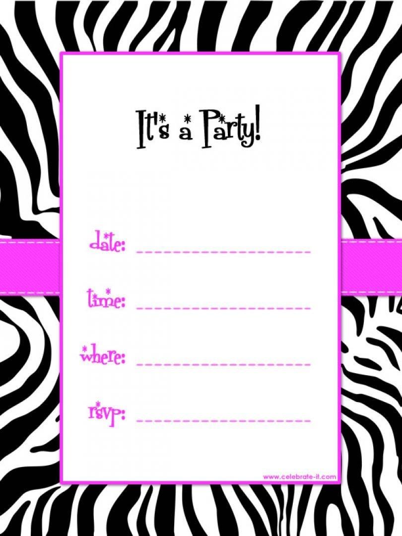 Free Printable Birthday Invitation Templates Online – Invitetown - Birthday Party Invitations Online Free Printable