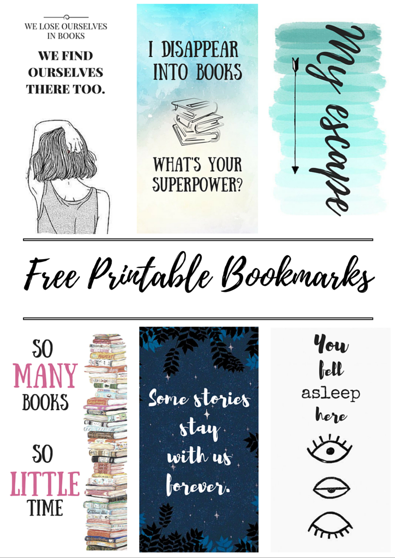 Free Printable Bookmarks | Crafty | Free Printable Bookmarks, Diy - Free Printable Bookmarks