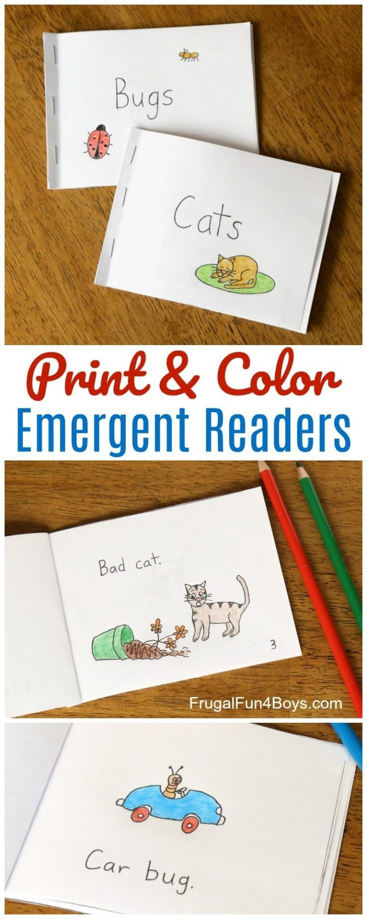 Free Printable Books For Beginning Readers - Level 1 (Easy | Books - Free Printable Leveled Readers For Kindergarten