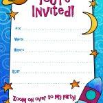 Free Printable Boys Birthday Party Invitations   Birthday Party   Free Printable Boy Birthday Invitations