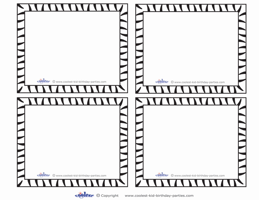 Free Printable Card Templates Or 7 Best Of Blank Printable Game - Free Printable Card Templates