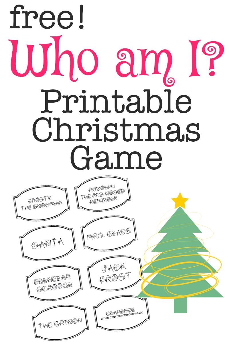 Free Printable Christmas Games For Church Groups – Festival Collections - Free Printable Religious Christmas Games
