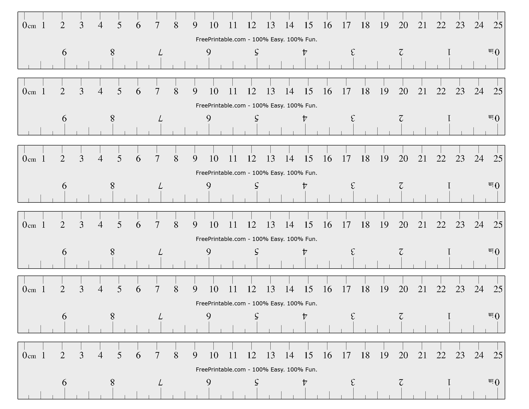 Free Printable Cm/inch Ruler | Math Mania!! | Printable Ruler, Free - Free Printable Ruler