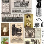Free Printable Collage Sheets |  Digital Stamps**: Free Vintage   Free Printable Digital Collage Sheets