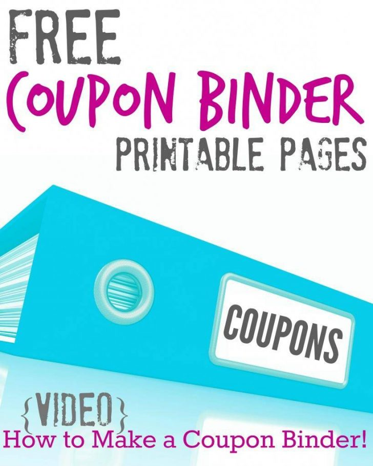 Free Printable Coupon Spreadsheet