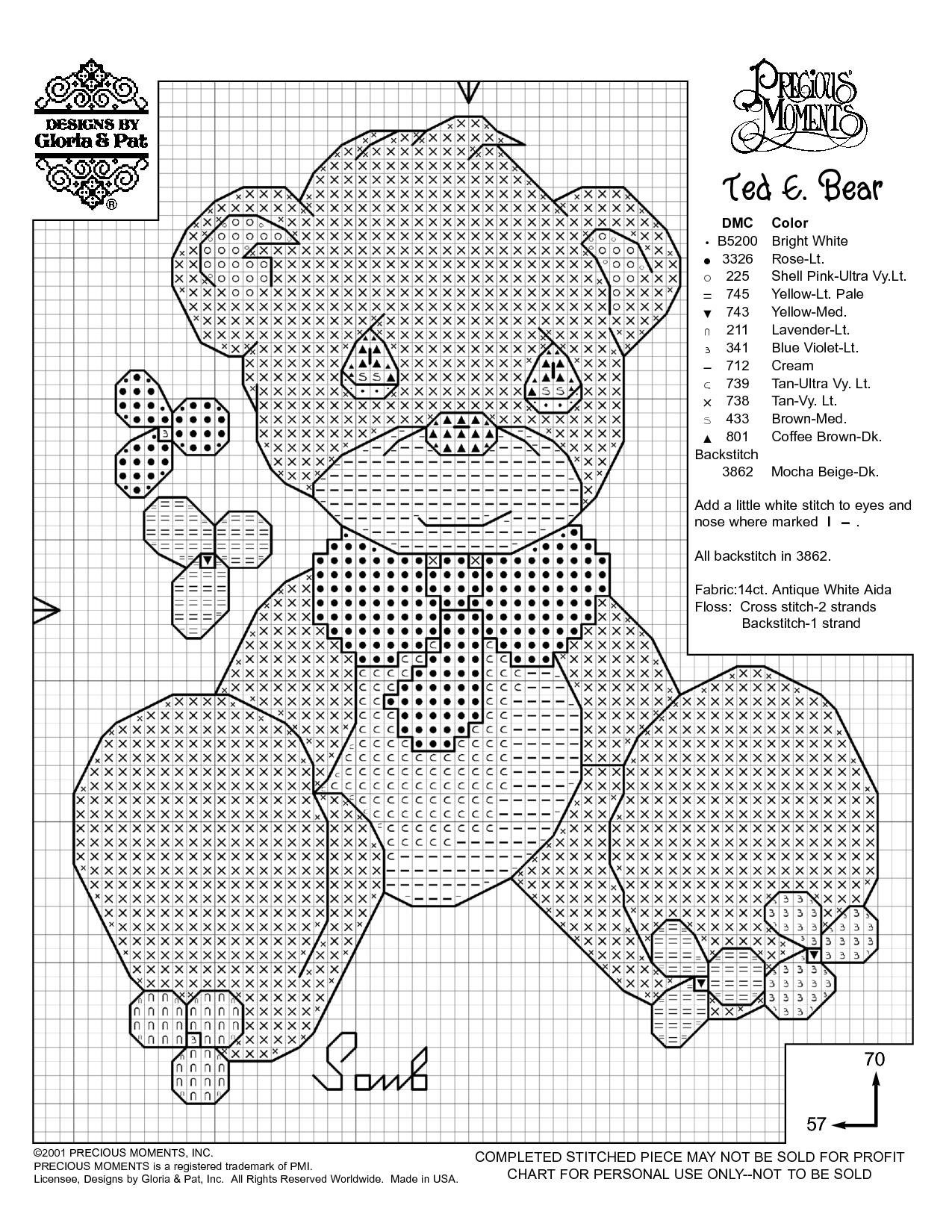 Free Printable Cross Stitch Patterns   Needlework Projects   Baby - Needlepoint Patterns Free Printable