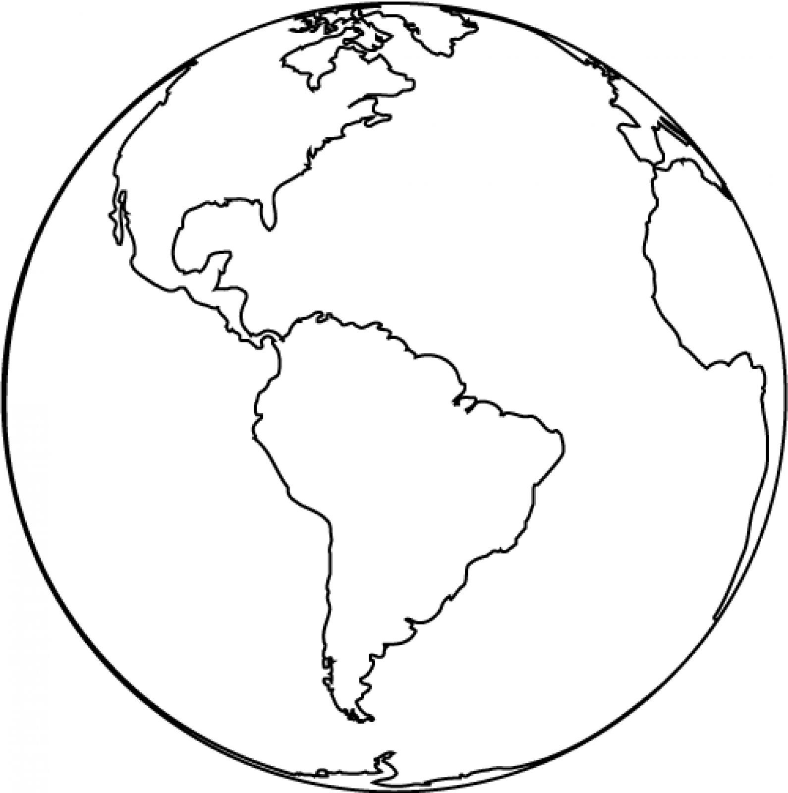 Free Printable Earth Coloring Pages For Kids - Free Printable Earth Pictures