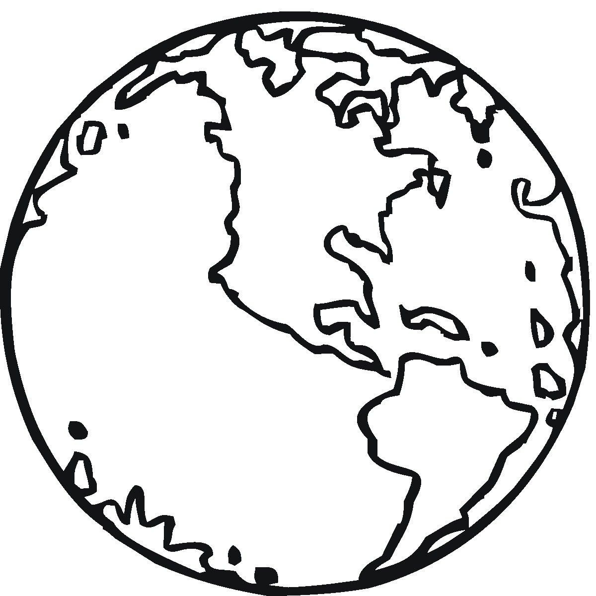 Free Printable Earth Coloring Pages For Kids | Stuff | Earth - Free Printable Earth Pictures
