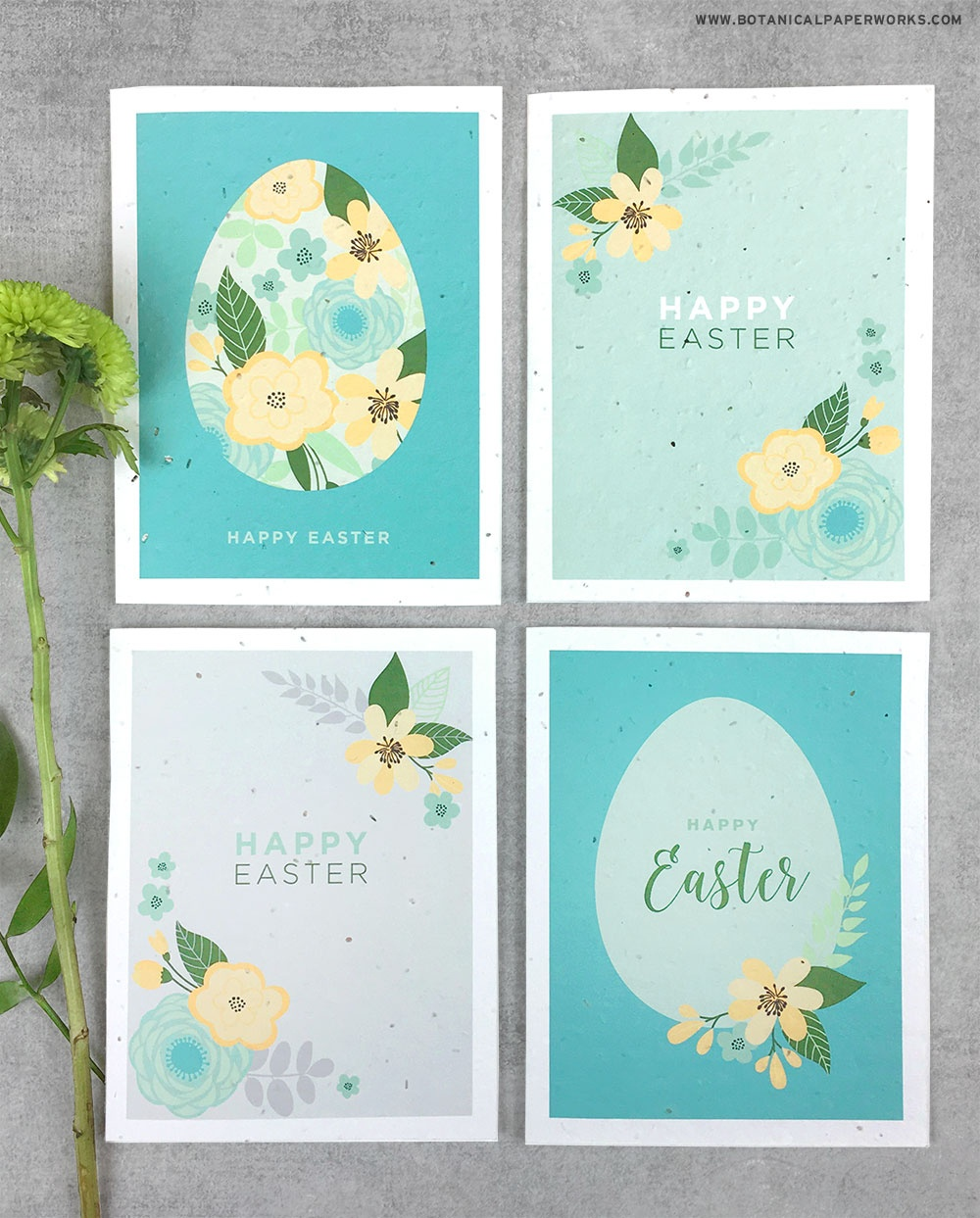 Free Printable} Easter Cards | Blog | Botanical Paperworks - Free Printable Cards