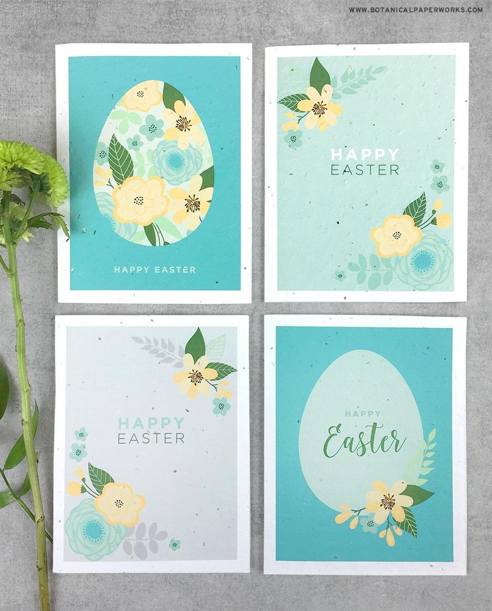 Free Printable} Easter Cards   Blog   Botanical Paperworks - Free Printable Easter Cards To Print