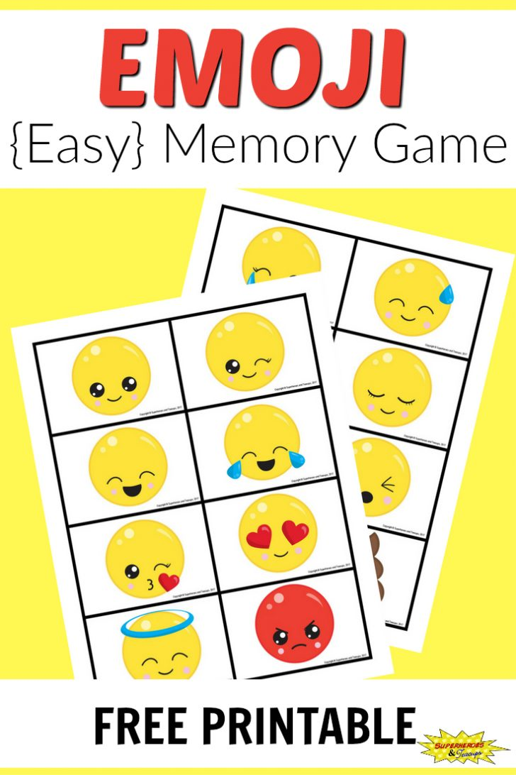 Free Printable Memory Exercises