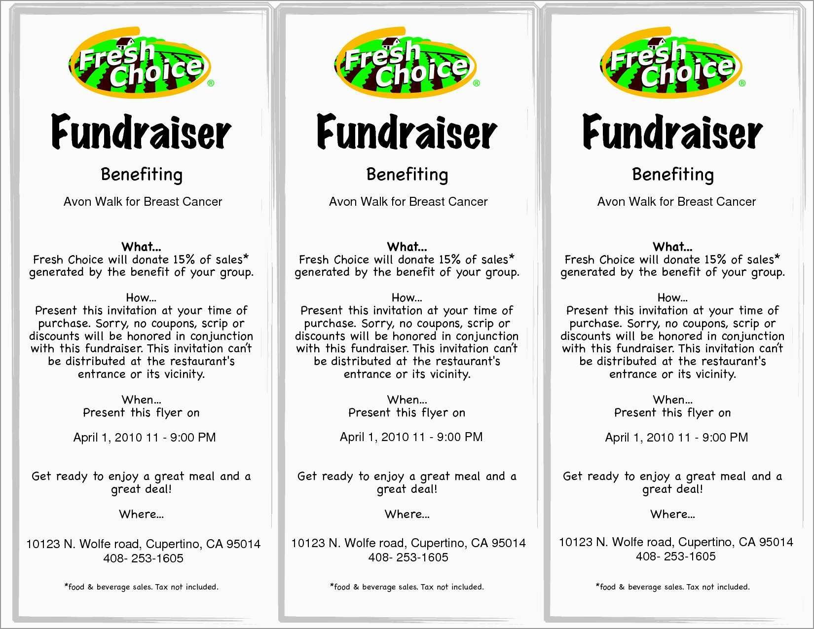 Free Printable Flyer Templates Beautiful Free Flyer Template   Best - Free Printable Fundraiser Flyer Templates