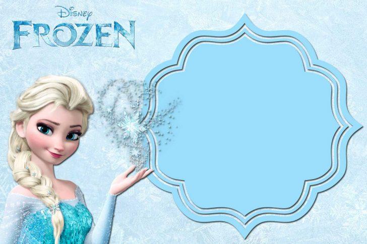 Free Printable Frozen Birthday Invitations