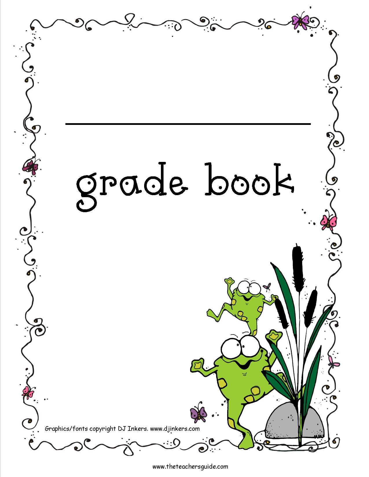 Free Printable Grade Books - Free Printable Gradebook Sheets For Teachers