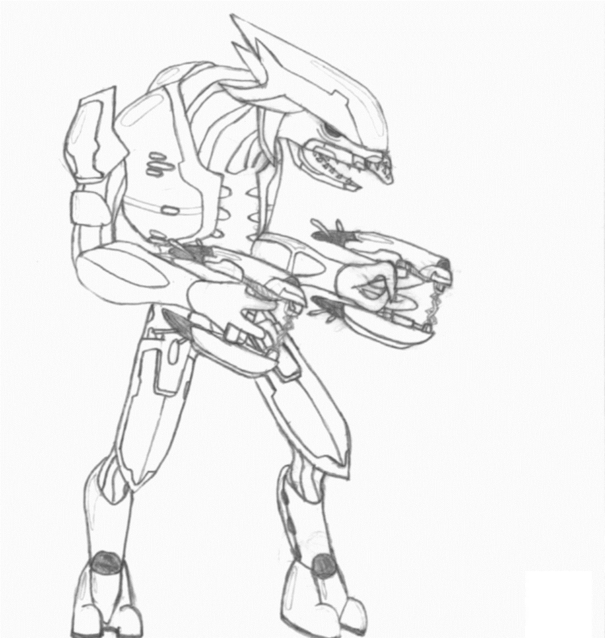 Free Printable Halo Coloring Pages For Kids - Free Printable Halo Coloring Pages