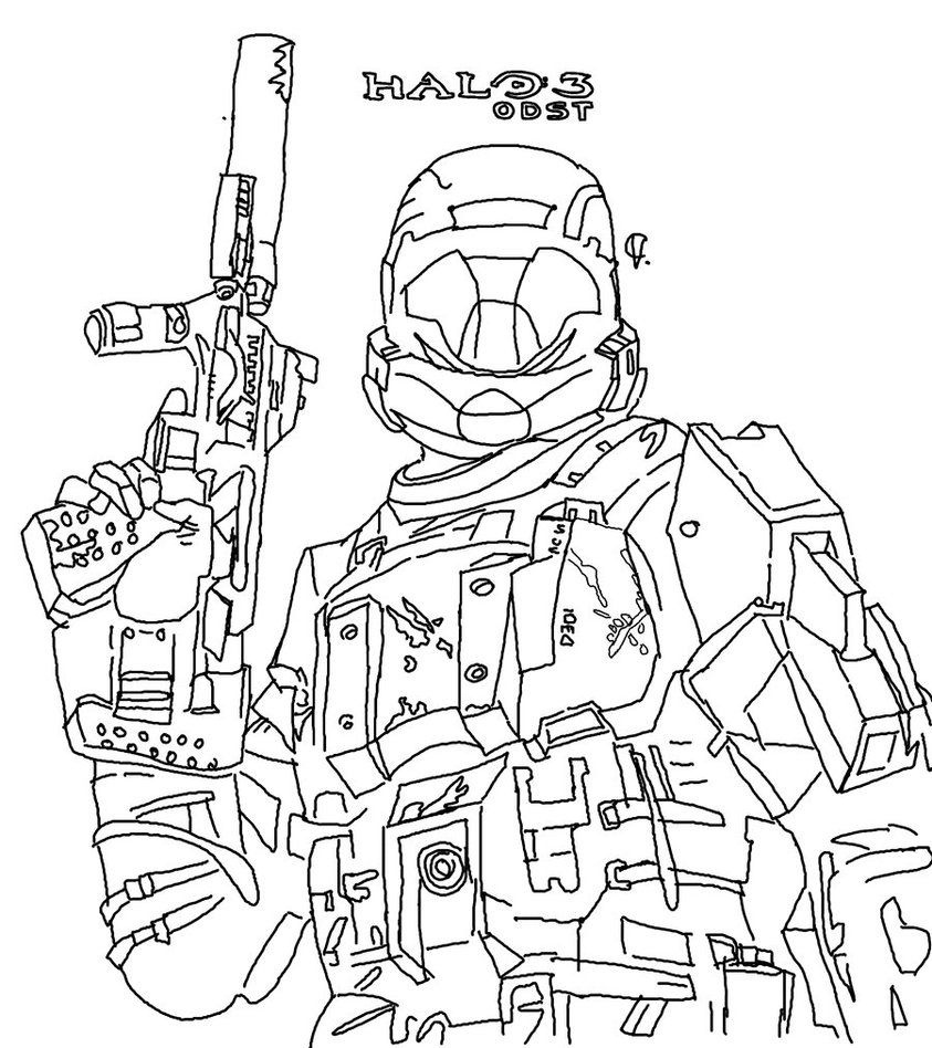 Free Printable Halo Coloring Pages For Kids | Halo | Coloring Pages - Free Printable Halo Coloring Pages