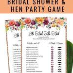 Free Printable He Said She Said Bridal Shower Game | Bridal Shower   He Said She Said Game Free Printable