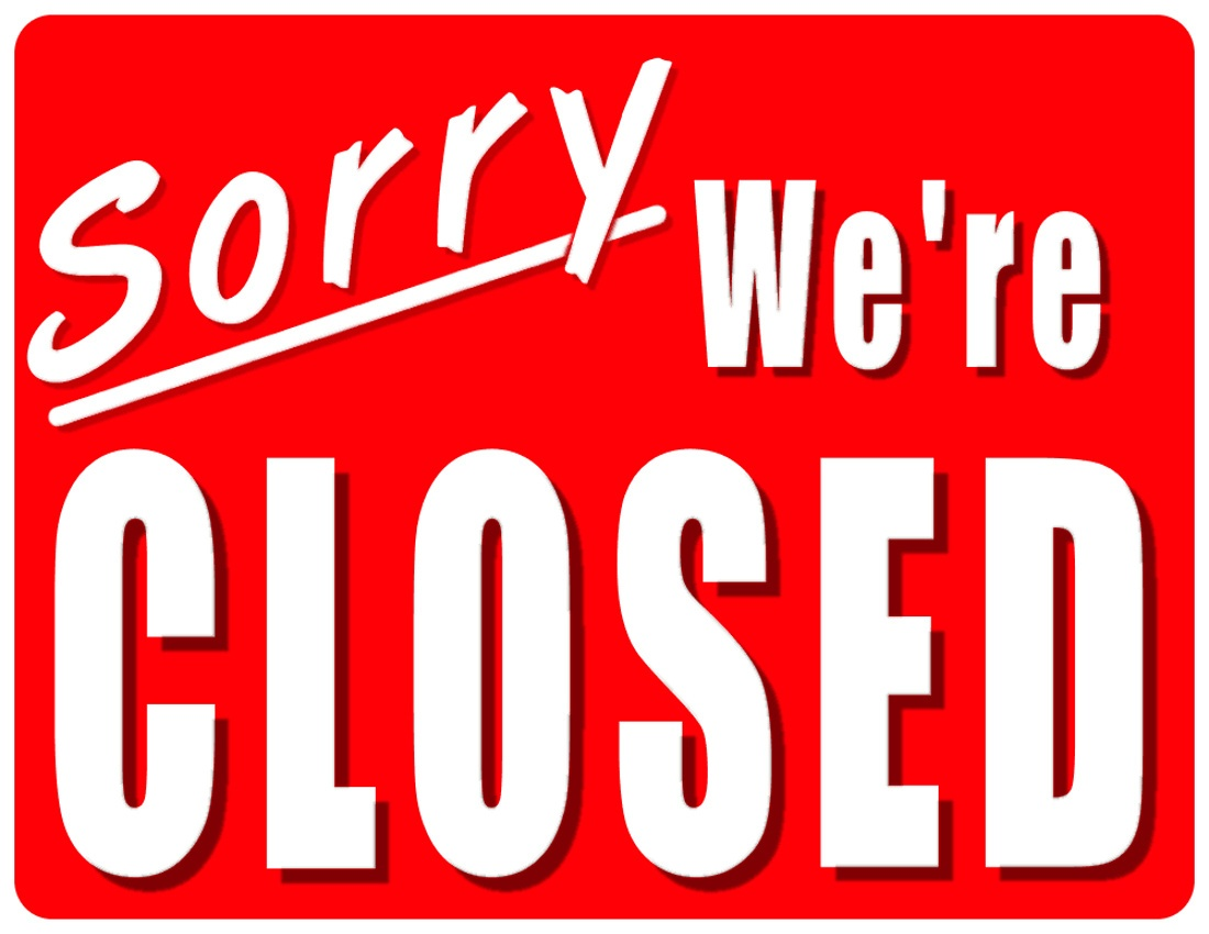 Free Printable Holiday Closed Signs | Free Download Best Free - Free Printable Holiday Closed Signs