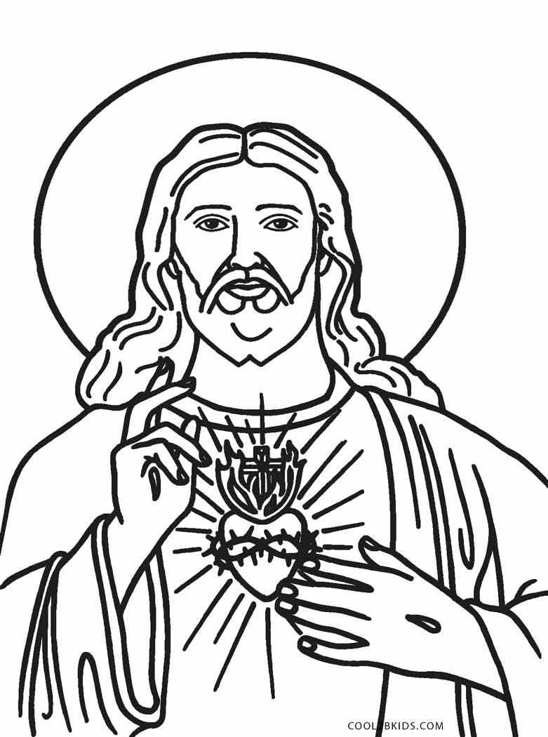Free Printable Jesus Coloring Pages For Kids | Cool2Bkids - Free Printable Jesus Coloring Pages