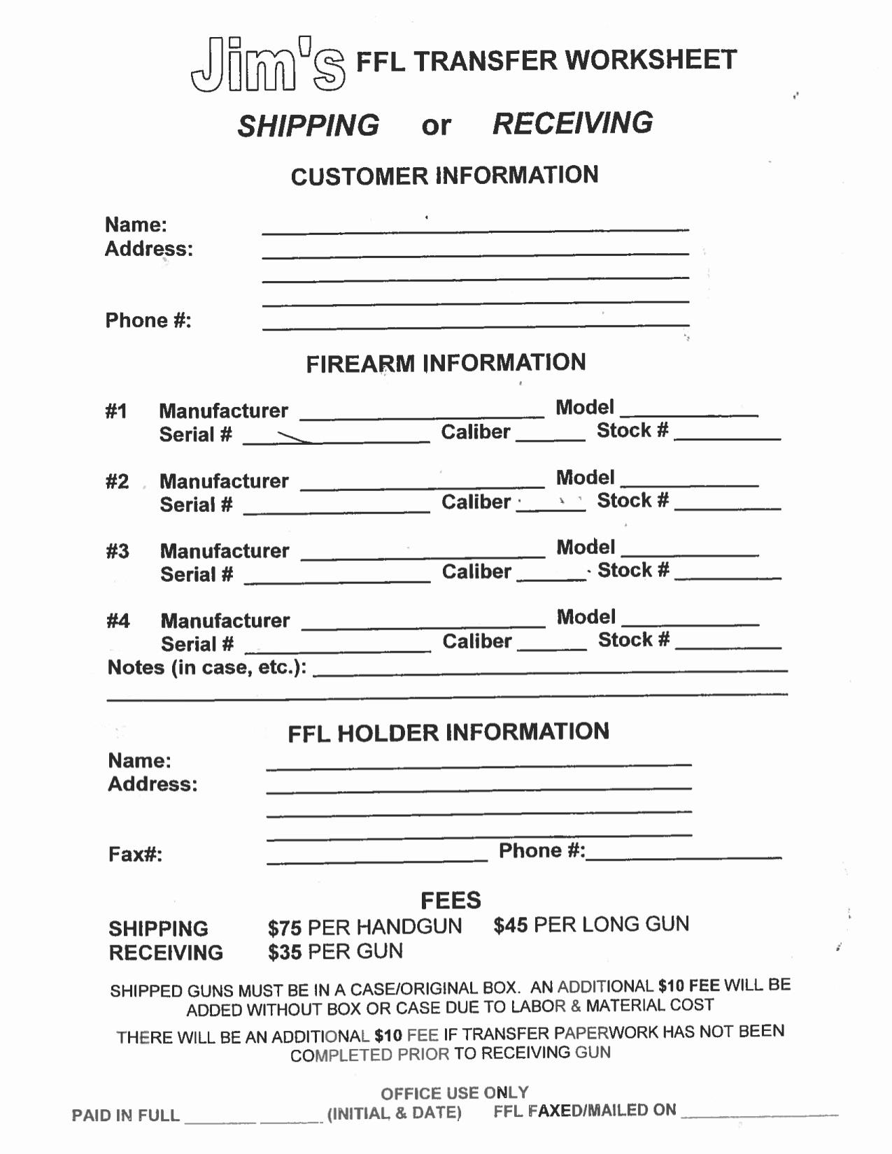 Free Printable Layaway Forms Free - Tduck.ca - Free Printable Layaway Forms