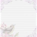 Free Printable Lined Stationary   Printable Writing Paper (67)   Free Printable Golf Stationary