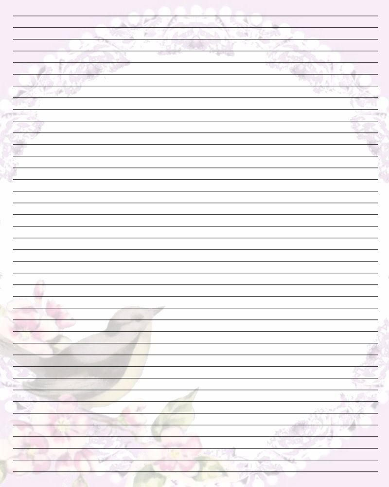 Free Printable Lined Stationary   Printable Writing Paper (67) - Free Printable Golf Stationary