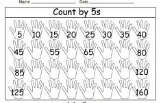 Free Printable Math Worksheets Count5S … | Patterns And – Free Printable Skip Counting Worksheets