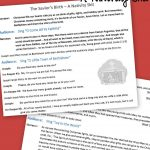 Free Printable Nativity Skit To Act Out The Birth Of The Savior   Free Printable Christmas Plays Church