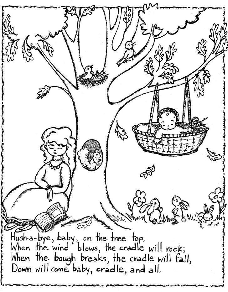 Free Printable Mother Goose Nursery Rhymes
