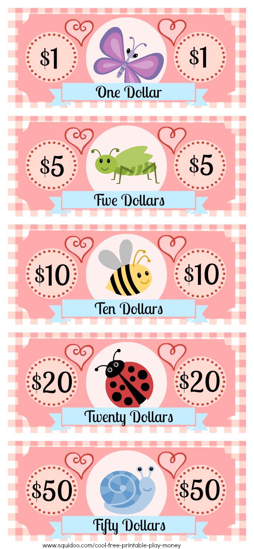 Free Printable Play Money Kids Will Love | Fake Monopoly Bills - Free Printable Money For Kids