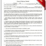 Free Printable Power Of Attorney, General Legal Forms | Free Legal - Free Printable Legal Forms California