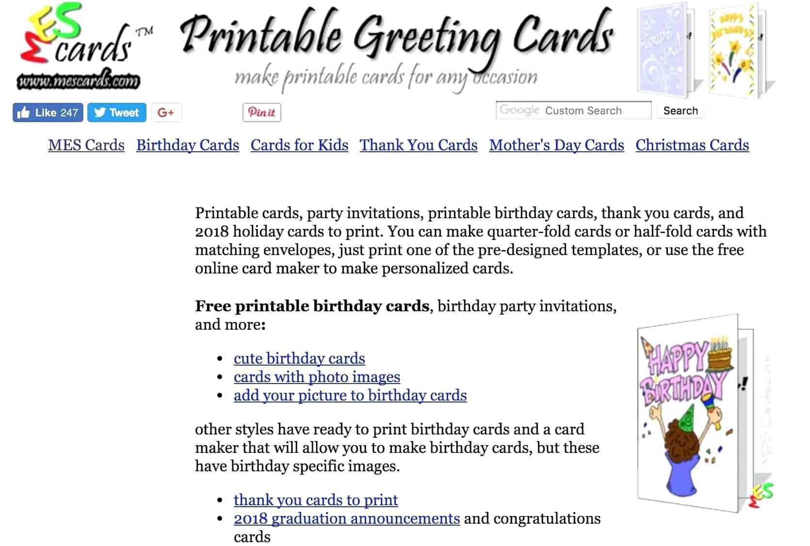 Free Printable Quarter Fold Christmas Cards – Festival Collections - Free Printable Quarter Fold Christmas Cards