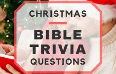 Free Printable Religious Christmas Trivia Games – Festival Collections – Free Printable Religious Christmas Games