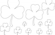 Free Printable Shamrock Coloring Pages For Kids – Free Printable Shamrocks