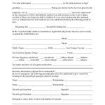 Free Printable Temporary Guardianship Forms   Forms   Child Custody   Free Printable Temporary Guardianship Form