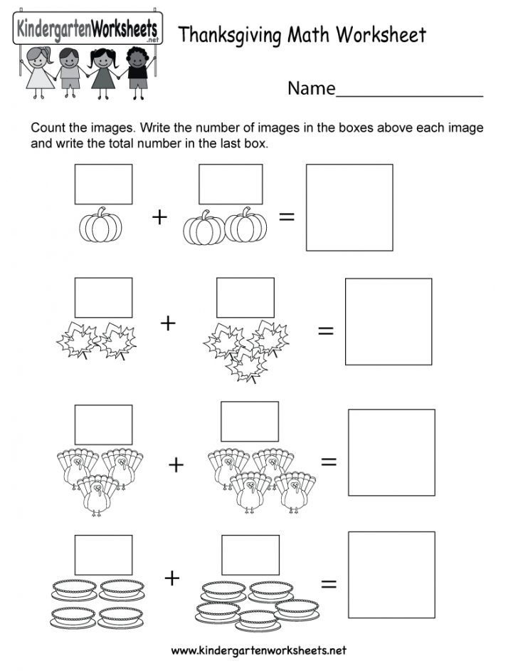 Math Worksheets Thanksgiving Free Printable