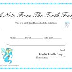 Free Printable Tooth Fairy Letter | Tooth Fairy Certificate   Tooth Fairy Stationery Free Printable