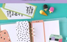 Free Printable Top Tab Dividers For Planners, Diaries And Agendas – Free Printable Dividers