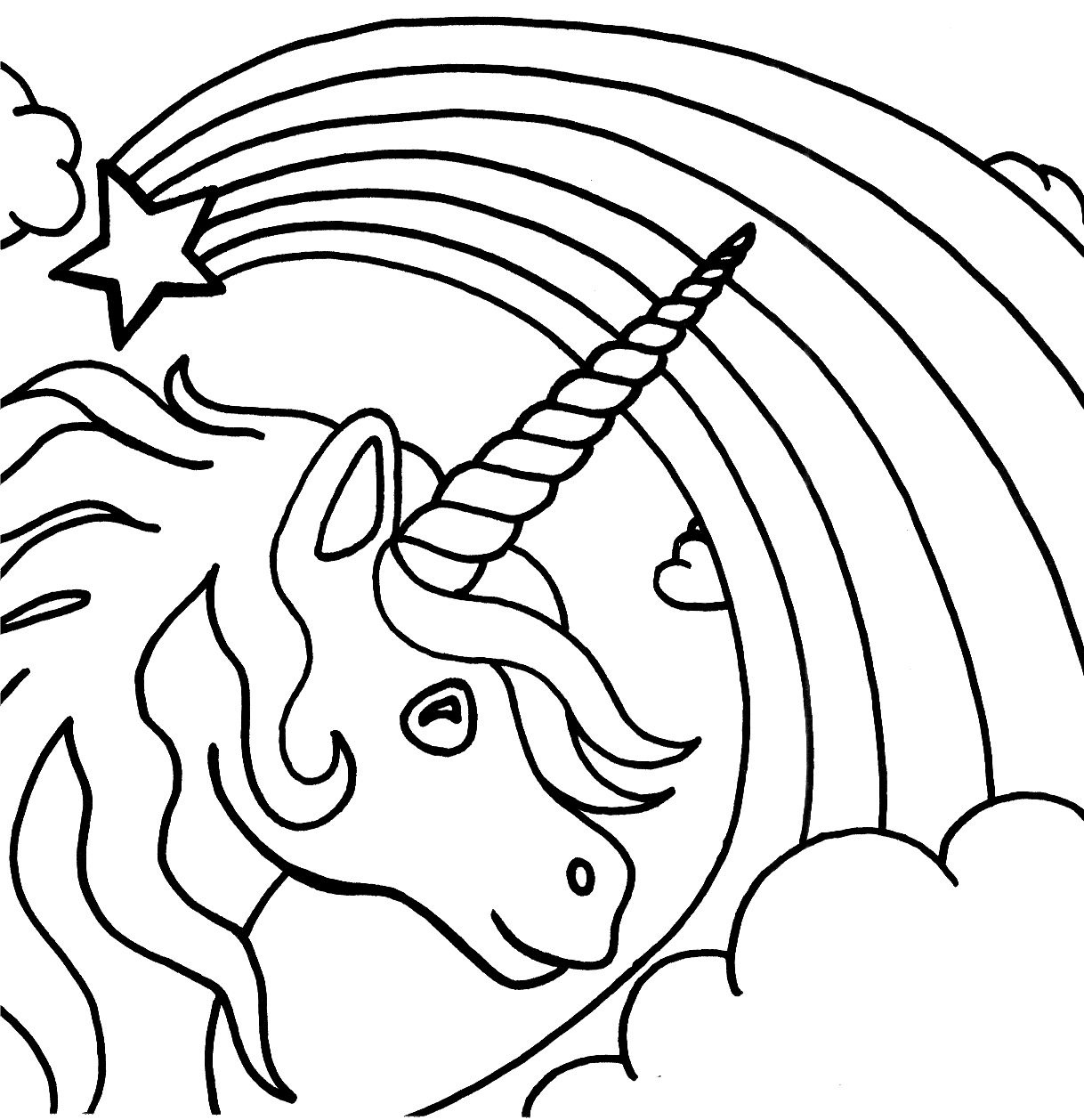 Free Printable Unicorn Coloring Pages For Kids | Fun | Unicorn - Free Printable Unicorn Coloring Pages